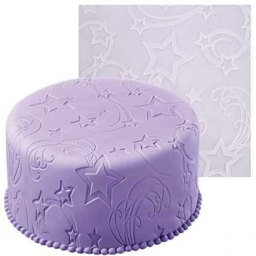 FONDANT IMPRINT MAT STAR POWER